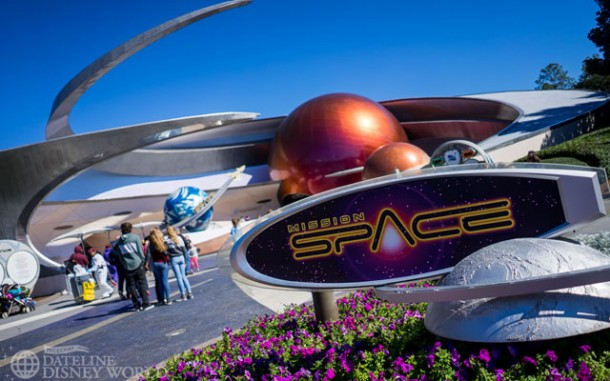 Still no sponsorship for Mission: Space.