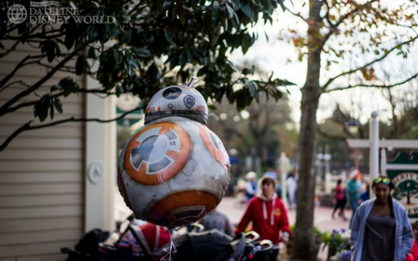 BB-8 balloons are everywhere now.