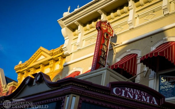 Love the late afternoon lighting on Main Street USA.