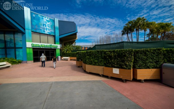 Construction for F&G happening next to Innoventions.