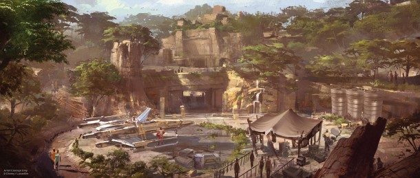 Star Wars-Themed Land Artist Concept