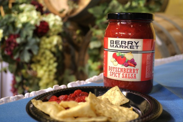Boysenberry Spicy Salsa HDR Small