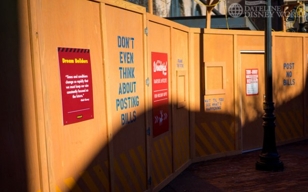 Makes sense, since Toy Story will soon have its own land on the other side of the park.
