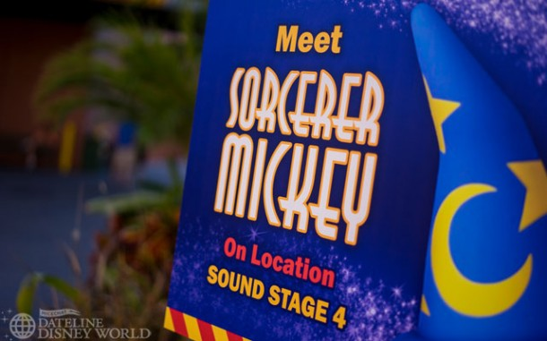 Still doing the Sorcerer Mickey meet and greet near Midway Mania.