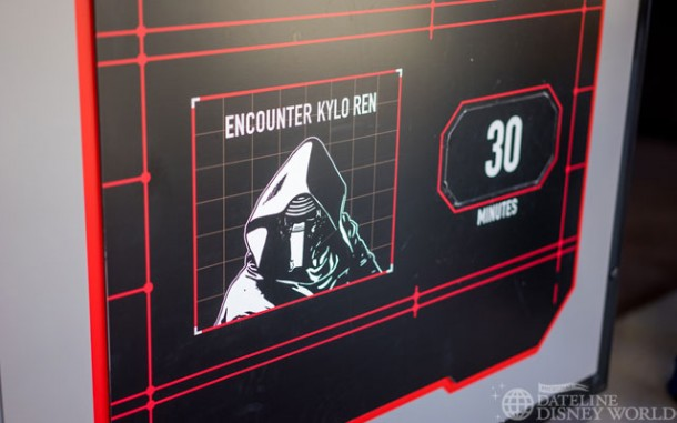 Kylo Ren has replaced Darth Vader at Star Wars Launch Bay.