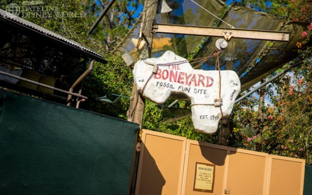 Boneyard closed for refurbishment.