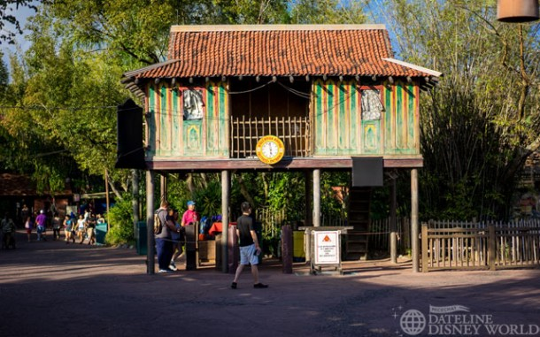 Kali River Rapids is still closed for its annual winter refurbishment.