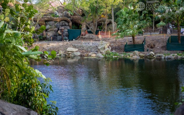 Curious to see what all this work is on the Harambe side of Discovery Island.