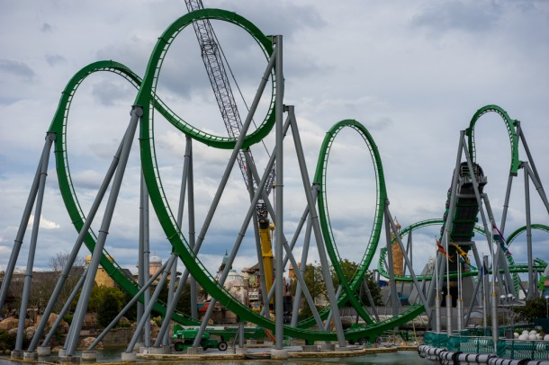 One last look at the Hulk from Toon Lagoon.