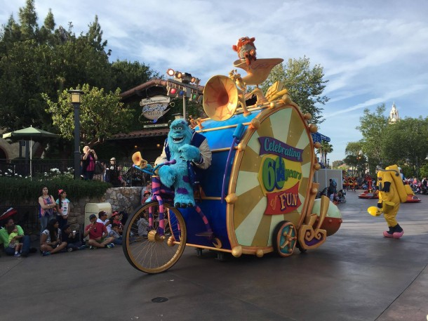 Disneyland Cutbacks will close the Pixar Play Parade.