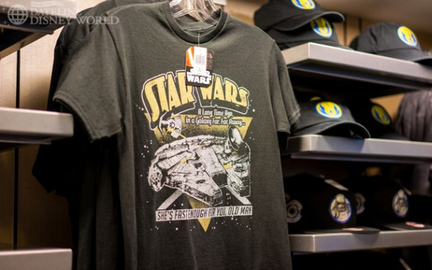 Slightly less serious merchandise than you'll find at the Launch Bay.