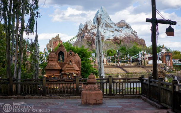 Some walls have come down in Asia once again revealing the Yeti shrine.