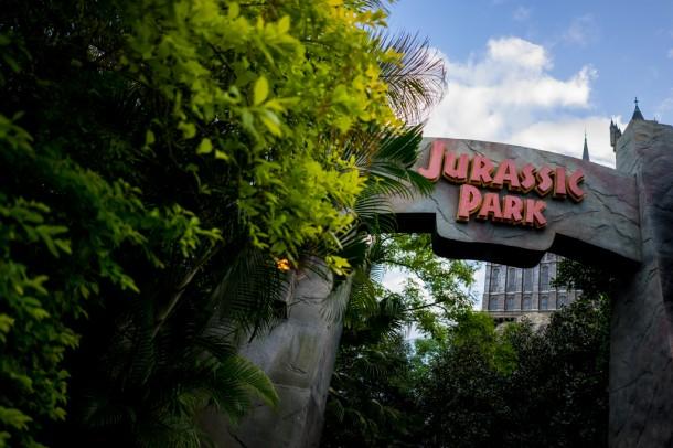 Nice foliage in Jurassic Park.