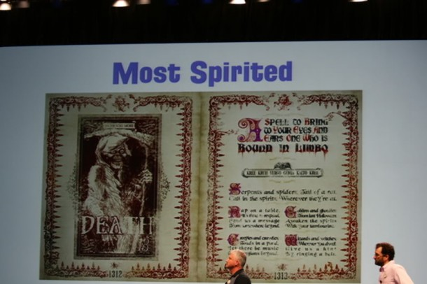 From Destination D in 2011. Anyone remember the origin of the little spell in the middle?