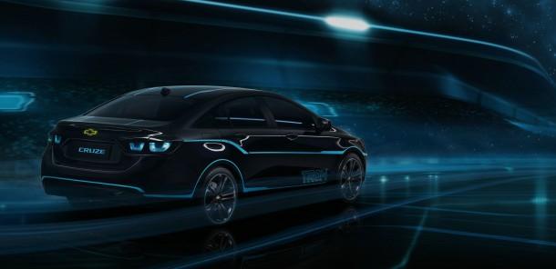 Chevrolet Cruze Show Car Inspired by Disney Film TRON: Legacy