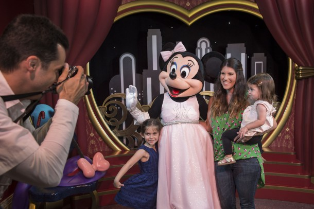 Minnie Mouse Greets Guests at Disney's Hollywood Studios