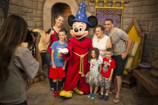 Mickey Mouse Greets Guests at Disney's Hollywood Studios