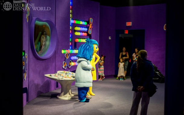 Joy and Sadness from Inside Out have joined Baymax in Innoventions.