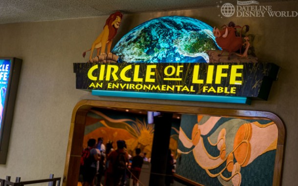 Circle of Life has returned from refurbishment after rumors of it closing for good. The wall carpet lives!