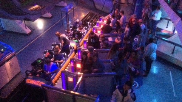 Hyperspace Mountain continued to rock from rope drop.