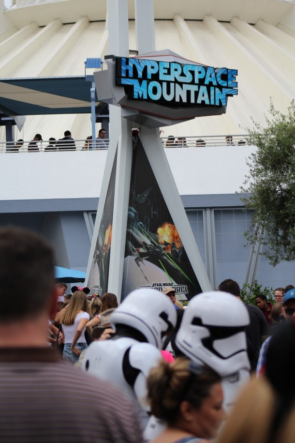 Hyperspace Mountain remains a rope drop destination.