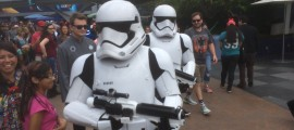 First Order Troopers on patrol.