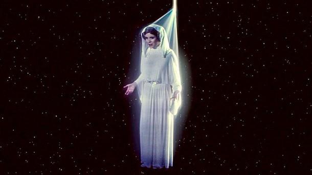 Leia returns to Star Tours