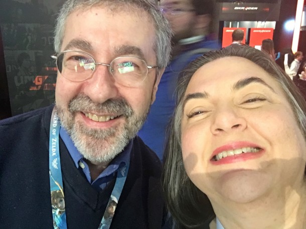 Warren Spector did not have time to go to Disneyland this trip. Was wearing Disney socks. Has written a DuckTales game (well, really, who among us hasn't, right?) and should, in my opinion, buy the rights to Epic Mickey and publish it in an outside company now that Disney Interactive has gone, for all intents and purposes, to Yesterland. But that's just me talking.