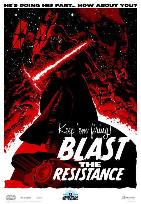 Artwork by Brian Miller for Star Wars Celebration Europe