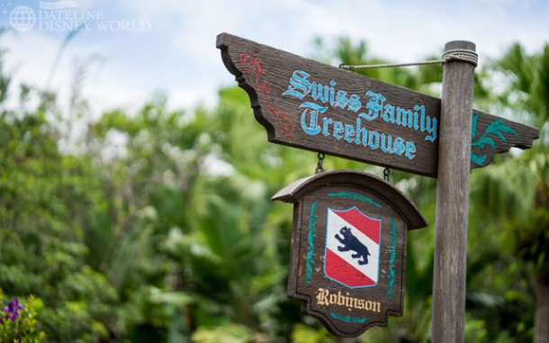 Swiss Family Treehouse is slated to close for a large scale refurbishment this summer.