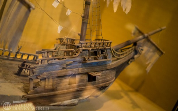 Models from the very exciting new Pirates of the Caribbean attraction.