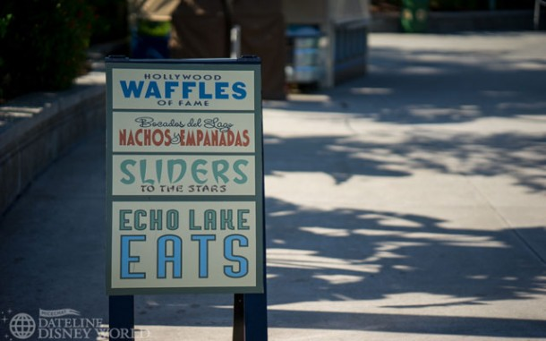Over in Echo Lake, there are some new food kiosks.