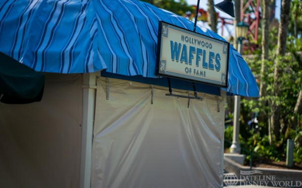 They look very much look Food and Wine booths from Epcot.