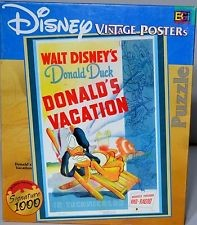 Donald Duck's Vacation 1000-piece Puzzle