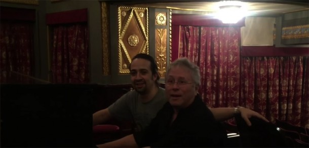 Lin-Manuel Miranda and Alan Menken. You're welcome.