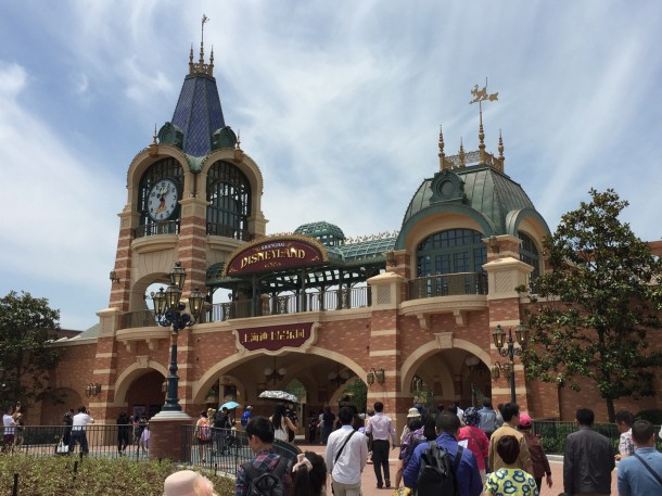 Shanghai Disneyland Main Entry