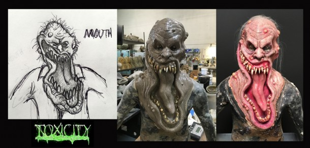 Toxicity Creature Design
