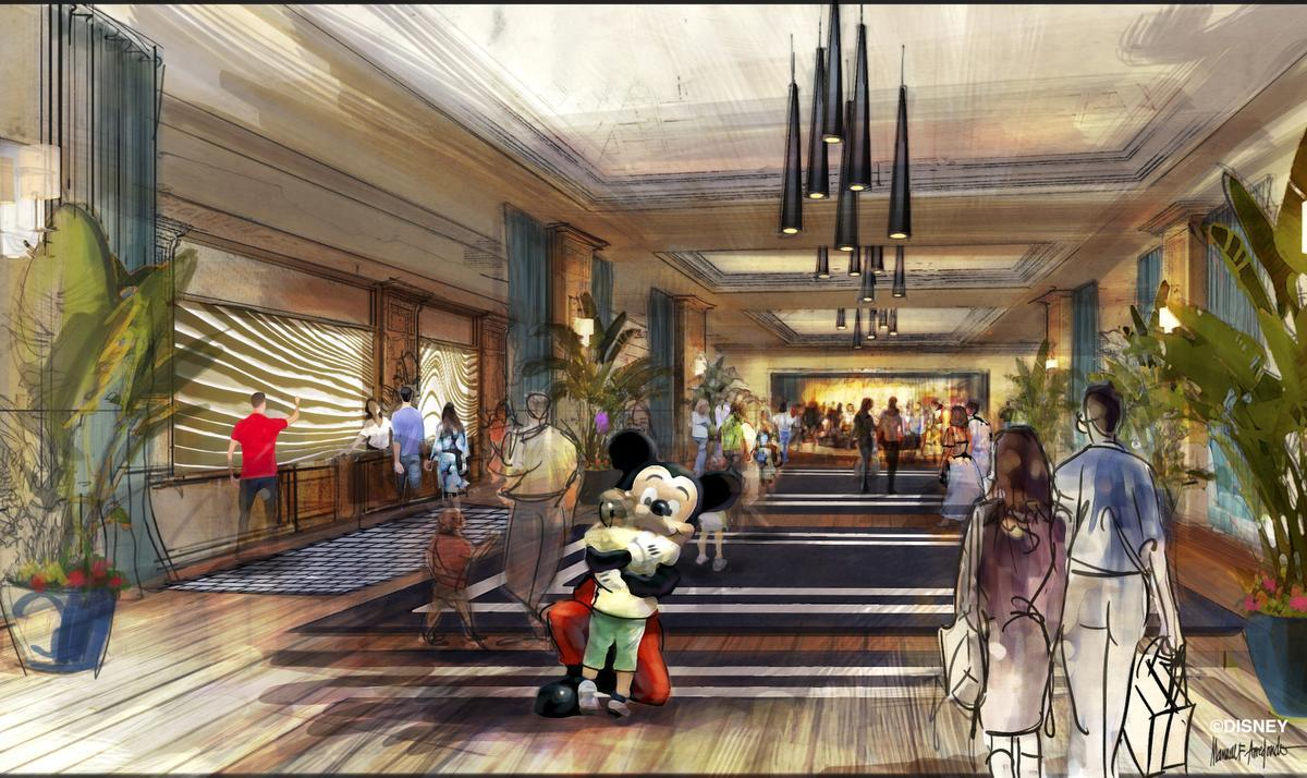 Micechat disneyland resort features the hotels of for Hotel concepts