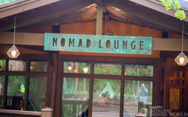 Nomad Lounge is also open and provides a nice place to relax and have a drink.
