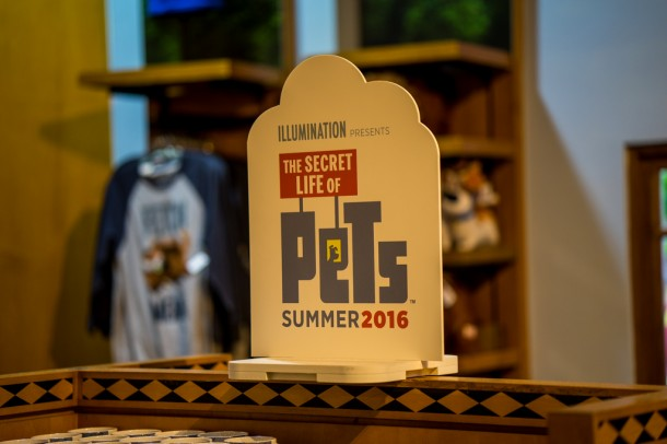 You'll see a trend that there is a lot of Secret Life of Pets happening at the resort right now.