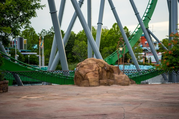 Walls are mostly down around the Hulk!