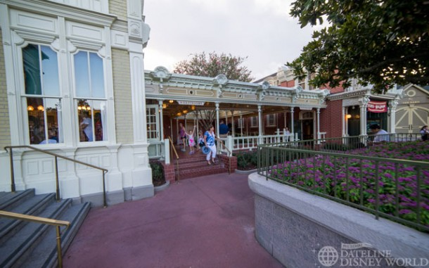 The restrooms have reopened on Main Street.