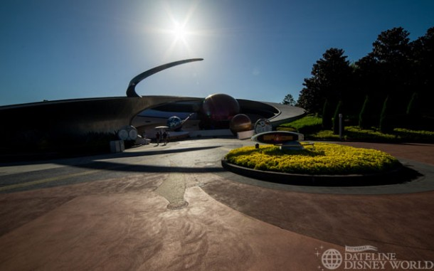 There were also rumors going around at first that the Guardians would make their way into Mission: Space.