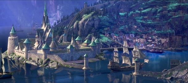 Frozen-Castle-Arendelle