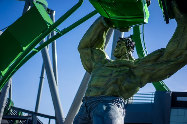 The Incredible Hulk Coaster will be officially reopening 'very soon' according to Universal.