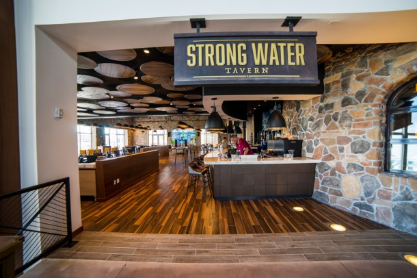 Strong Water Tavern is the place to be if you're into rum.