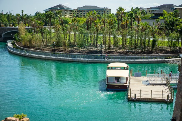 Water taxis can take you right to CityWalk.