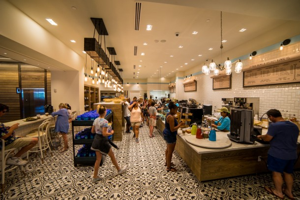 New Dutch Trading Co is the place for quick grab and go style food.