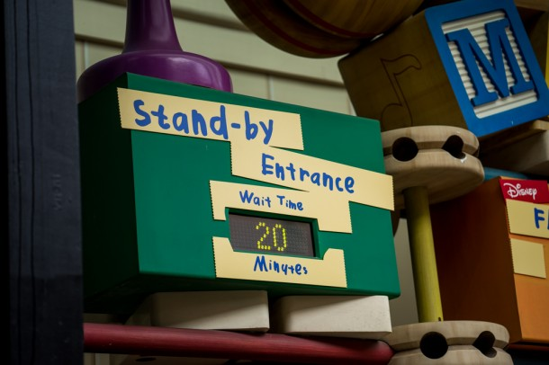 It really seems like the third Toy Story Mania track is making a difference.