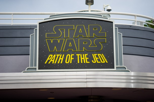Path of the Jedi now has a permanent sign.